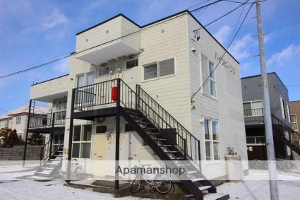 北海道千歳市の築29年 2階建の賃貸アパート