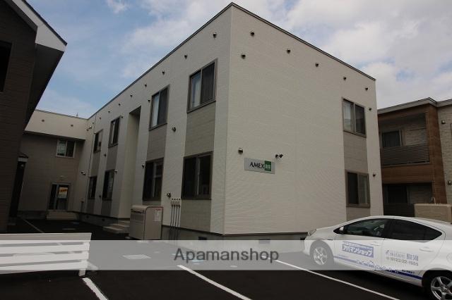 北海道千歳市の築1年 2階建の賃貸アパート