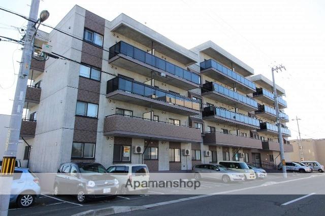北海道千歳市、千歳駅徒歩4分の築1年 5階建の賃貸マンション