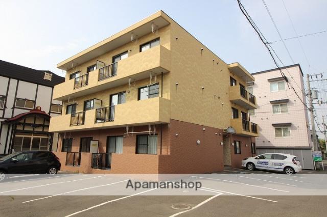 北海道千歳市、千歳駅徒歩7分の築9年 3階建の賃貸マンション
