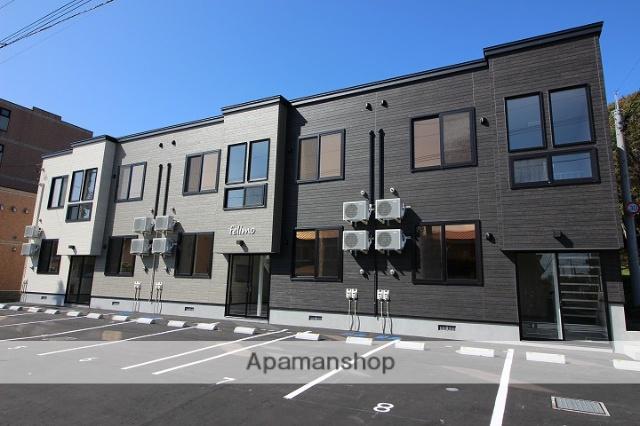 北海道千歳市、千歳駅徒歩14分の新築 2階建の賃貸アパート