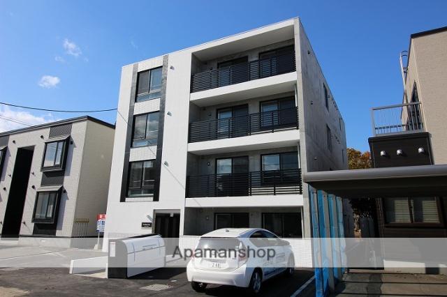 北海道千歳市、千歳駅徒歩12分の新築 4階建の賃貸マンション