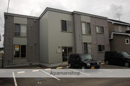 北海道千歳市の築10年 2階建の賃貸アパート