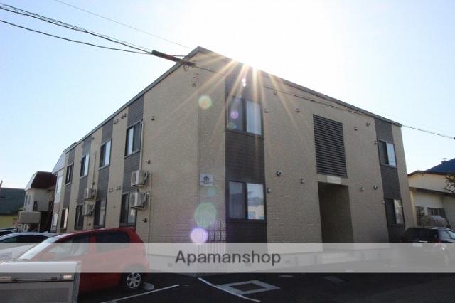 北海道千歳市、千歳駅徒歩28分の築1年 2階建の賃貸アパート