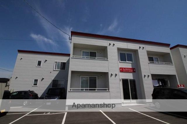 北海道千歳市、長都駅徒歩20分の新築 2階建の賃貸アパート
