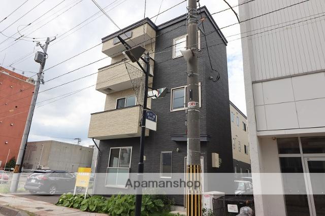 北海道千歳市、千歳駅徒歩9分の築4年 3階建の賃貸アパート