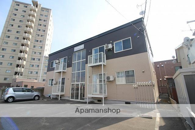北海道千歳市、千歳駅徒歩15分の築10年 2階建の賃貸アパート