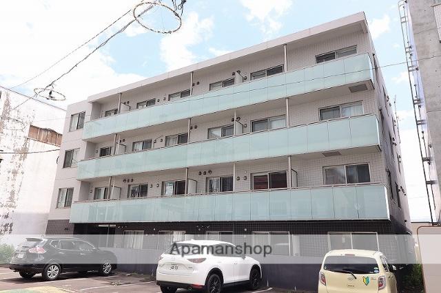 北海道千歳市、千歳駅徒歩9分の築1年 4階建の賃貸マンション
