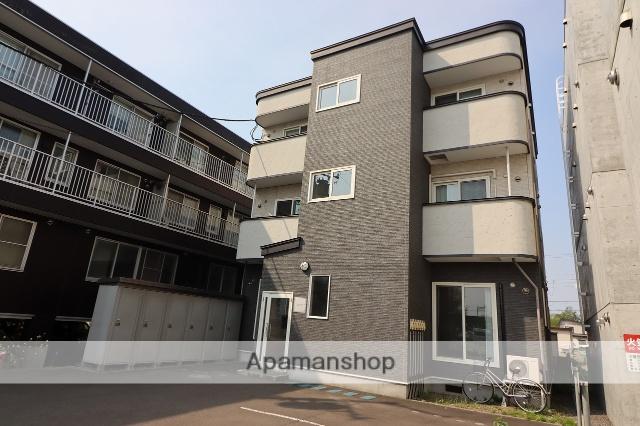 北海道千歳市、千歳駅徒歩5分の築6年 3階建の賃貸アパート
