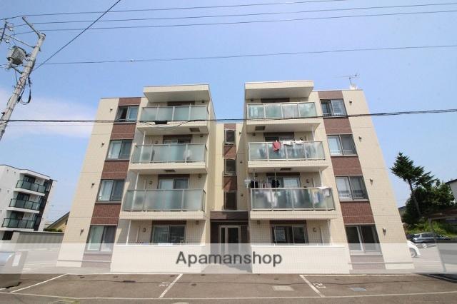北海道千歳市の築1年 4階建の賃貸マンション