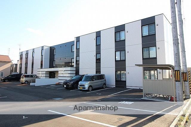 北海道千歳市の築1年 3階建の賃貸マンション