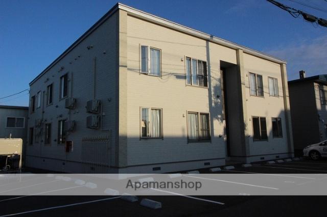 北海道千歳市の築2年 2階建の賃貸アパート
