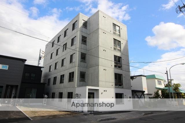 北海道千歳市、千歳駅徒歩7分の新築 5階建の賃貸マンション