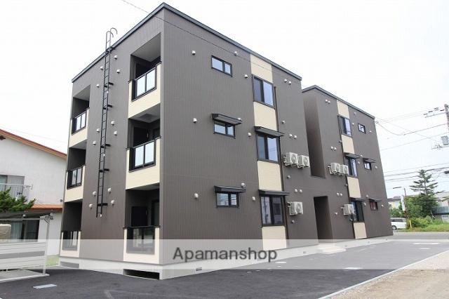 北海道千歳市、千歳駅徒歩20分の新築 3階建の賃貸アパート