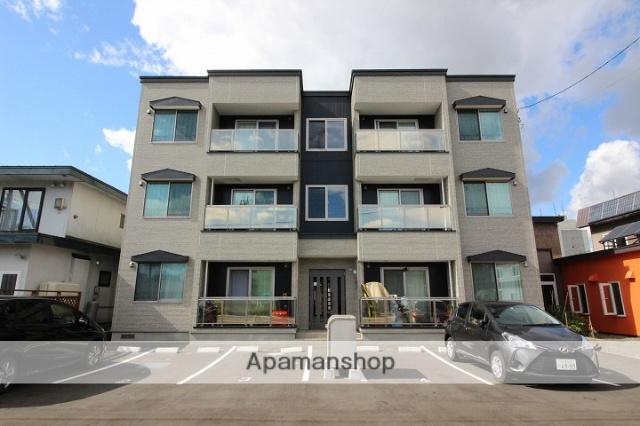 北海道千歳市の新築 3階建の賃貸アパート