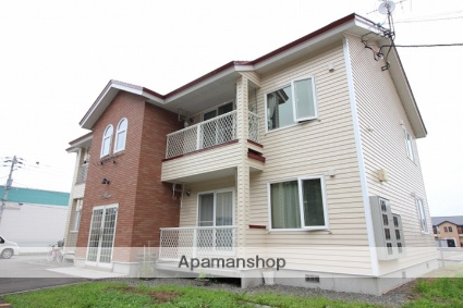 北海道千歳市の築15年 2階建の賃貸アパート