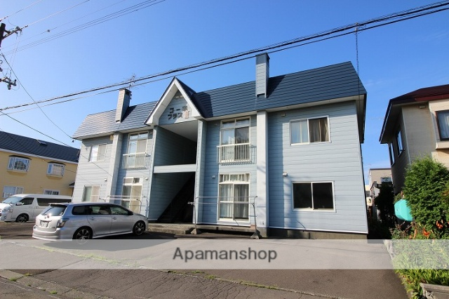 北海道千歳市の築31年 2階建の賃貸アパート