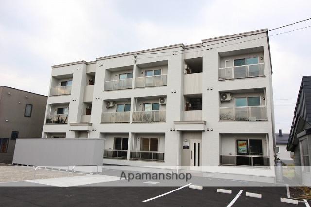 北海道千歳市、千歳駅徒歩12分の新築 3階建の賃貸アパート