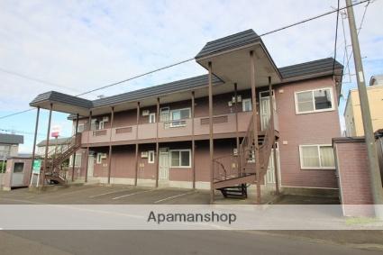 北海道千歳市の築19年 2階建の賃貸アパート
