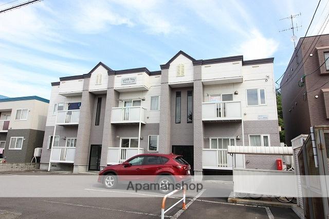 北海道千歳市、千歳駅徒歩38分の築17年 2階建の賃貸アパート