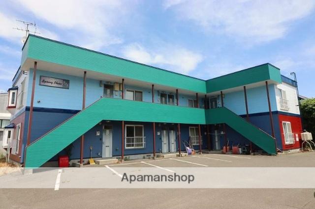 北海道千歳市の築20年 2階建の賃貸アパート