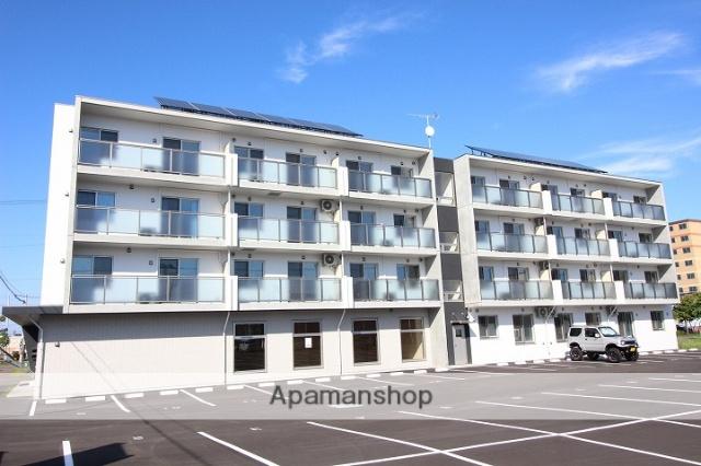 北海道千歳市の新築 4階建の賃貸マンション