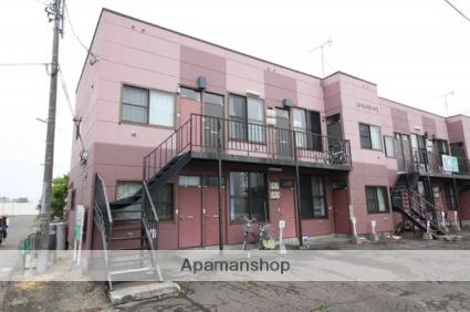 北海道千歳市の築32年 2階建の賃貸アパート