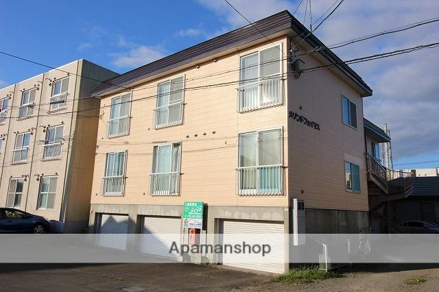北海道千歳市、千歳駅徒歩15分の築24年 3階建の賃貸アパート