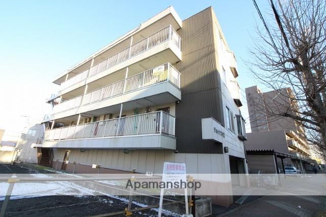 北海道千歳市、千歳駅徒歩6分の築21年 4階建の賃貸アパート
