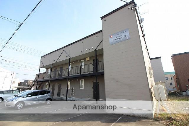 北海道千歳市の築16年 2階建の賃貸アパート