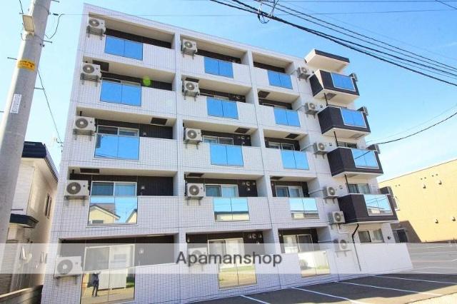 北海道千歳市、千歳駅徒歩16分の新築 5階建の賃貸マンション