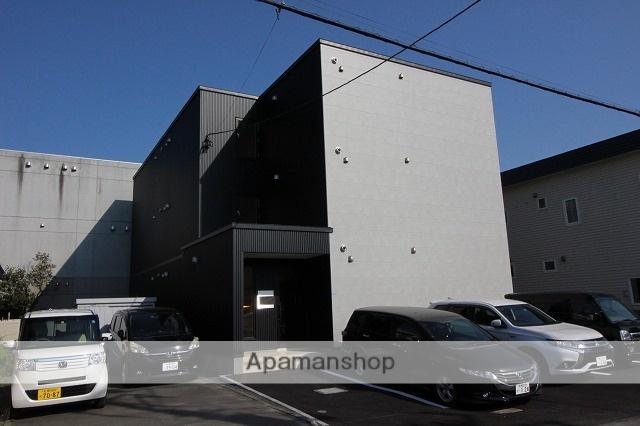 北海道千歳市、千歳駅徒歩15分の新築 3階建の賃貸アパート