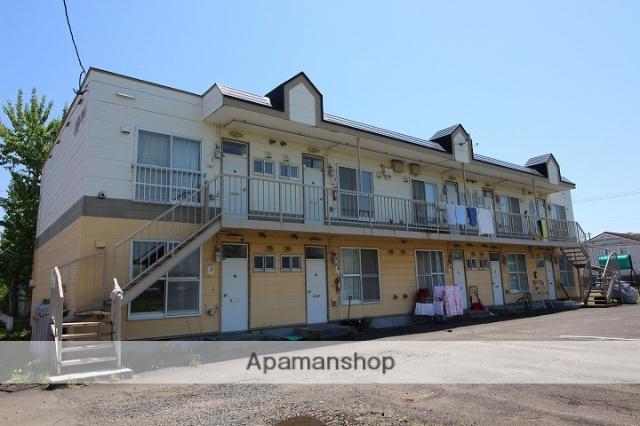 北海道千歳市、千歳駅徒歩24分の築27年 2階建の賃貸アパート