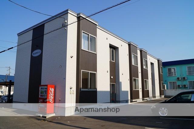 北海道千歳市、千歳駅徒歩17分の築5年 2階建の賃貸アパート