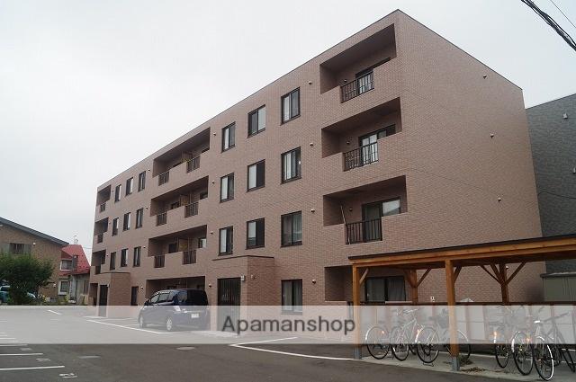 北海道千歳市の築4年 4階建の賃貸マンション