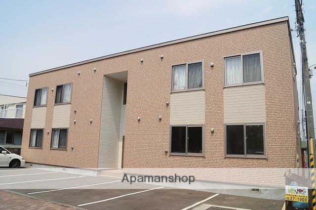 北海道千歳市、千歳駅徒歩12分の築5年 2階建の賃貸アパート
