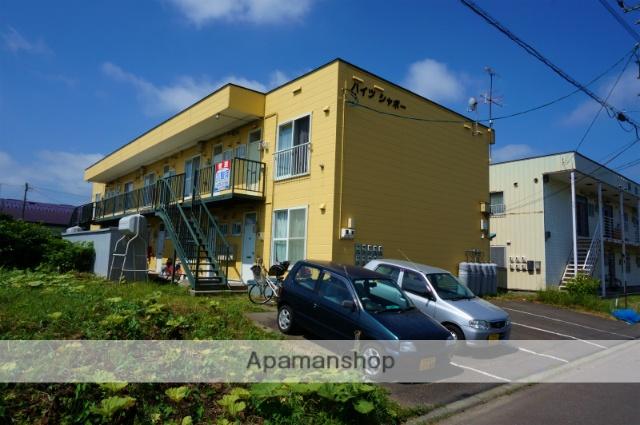 北海道恵庭市、恵庭駅徒歩10分の築24年 2階建の賃貸アパート