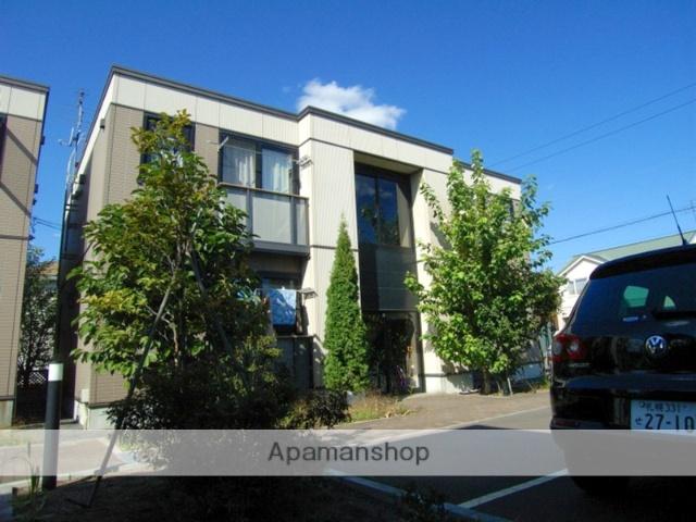 北海道恵庭市、恵庭駅徒歩7分の築13年 2階建の賃貸アパート