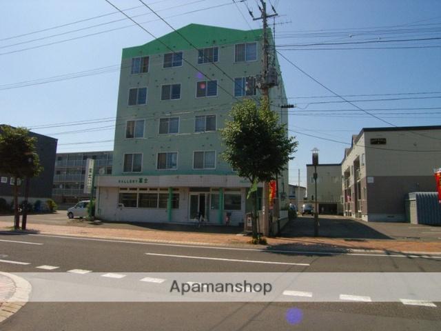 北海道恵庭市、恵庭駅徒歩12分の築27年 5階建の賃貸マンション