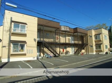 北海道恵庭市、恵庭駅徒歩13分の築30年 2階建の賃貸アパート