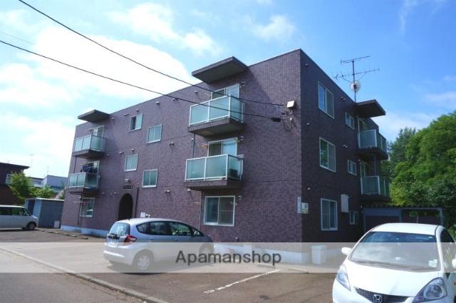 北海道恵庭市、恵庭駅徒歩17分の築19年 3階建の賃貸マンション