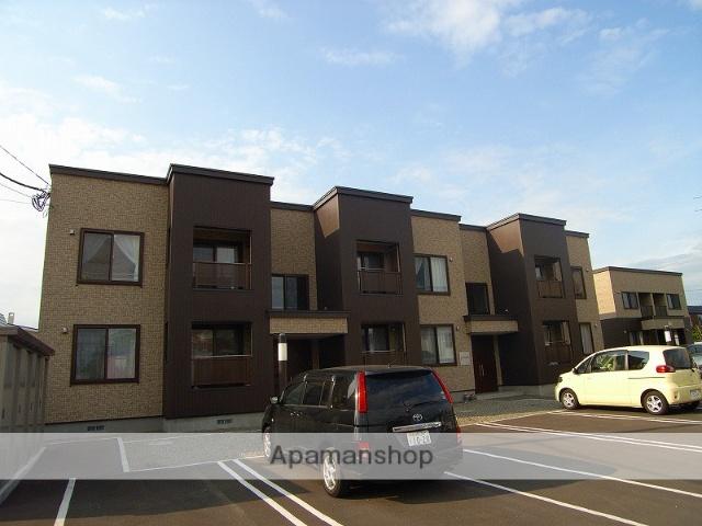 北海道恵庭市の築9年 2階建の賃貸アパート