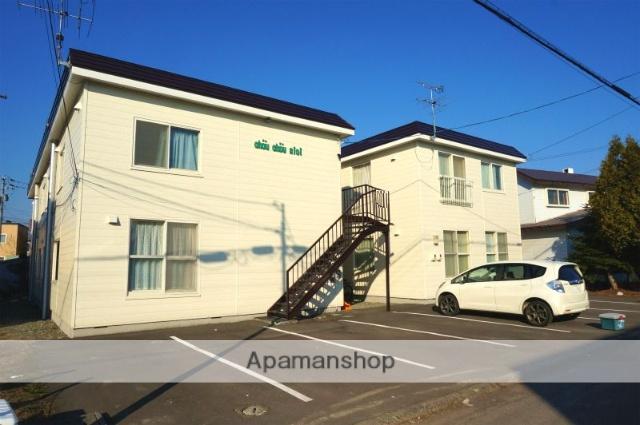 北海道恵庭市、恵庭駅徒歩7分の築29年 2階建の賃貸アパート