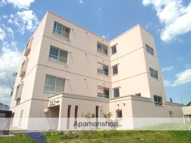 北海道恵庭市の築21年 4階建の賃貸マンション