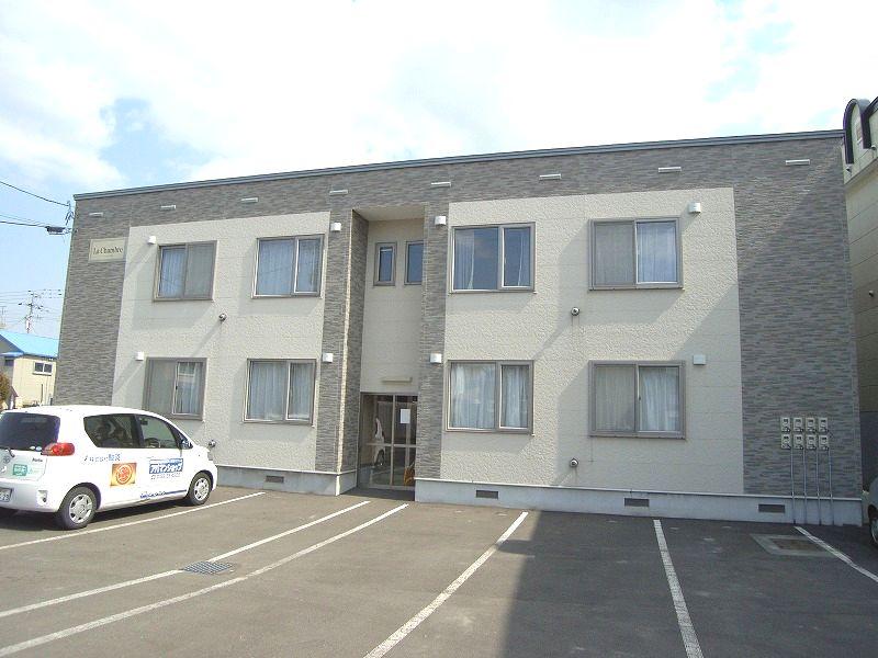 北海道恵庭市、恵庭駅徒歩14分の築10年 2階建の賃貸アパート