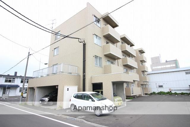 北海道恵庭市、恵庭駅徒歩13分の築10年 4階建の賃貸マンション