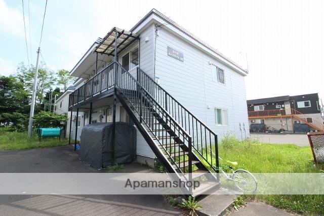 北海道恵庭市の築27年 2階建の賃貸アパート