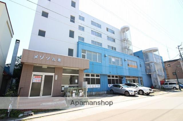 北海道恵庭市、恵庭駅徒歩10分の築33年 6階建の賃貸マンション