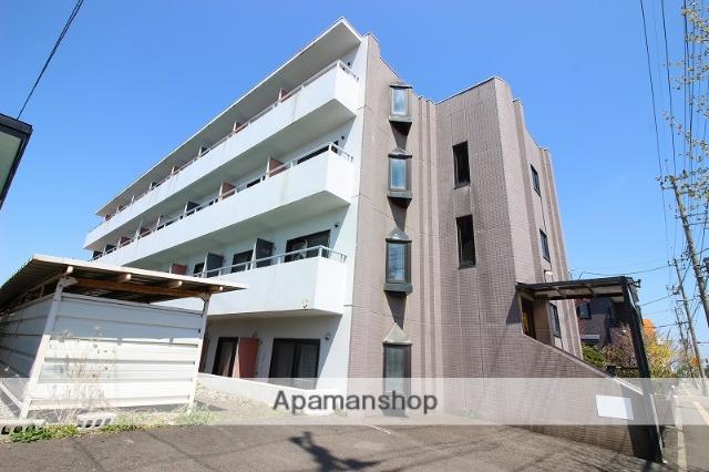北海道恵庭市、島松駅徒歩7分の築28年 4階建の賃貸マンション