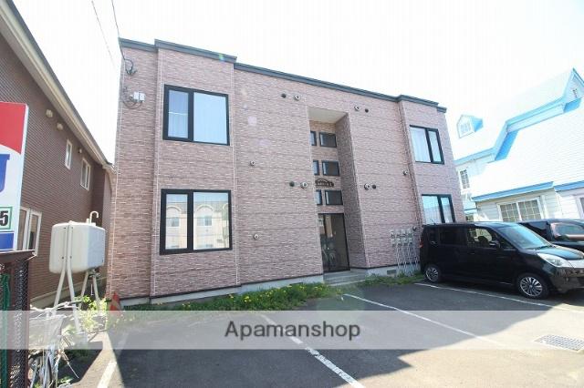 北海道恵庭市、恵み野駅徒歩11分の築11年 2階建の賃貸アパート